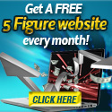 Click Here to receive a Free Website every month